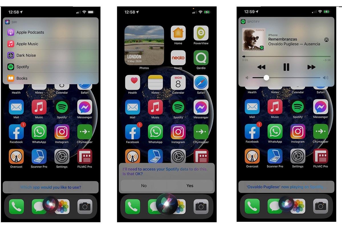iOS 14.5 beta Spotify