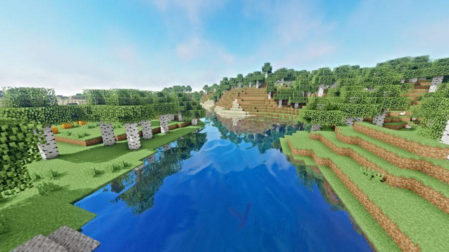 shaders Oceano Minecraft