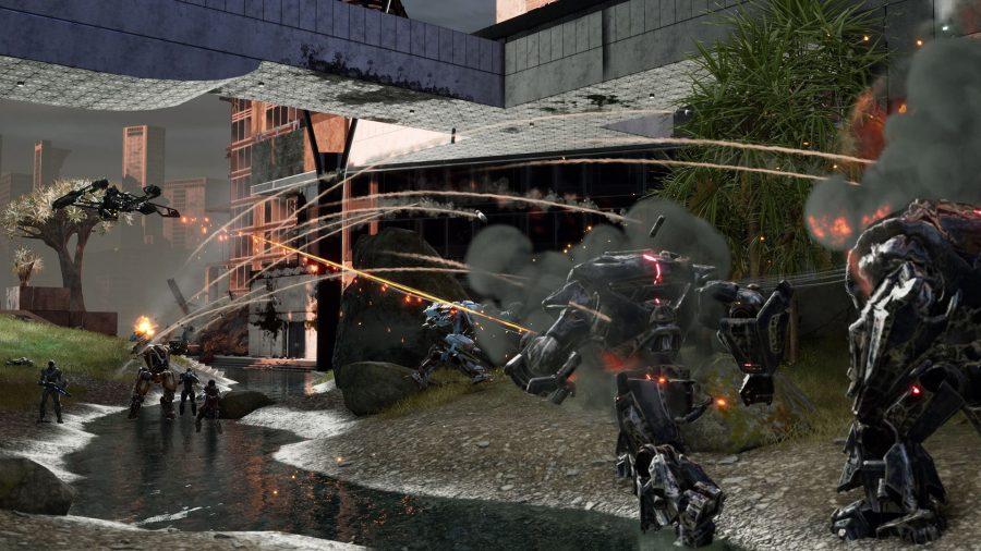 Disintegration - new PC games