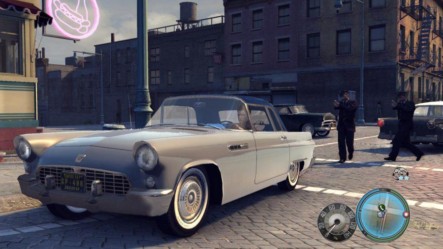 Une voiture de Mafia 2