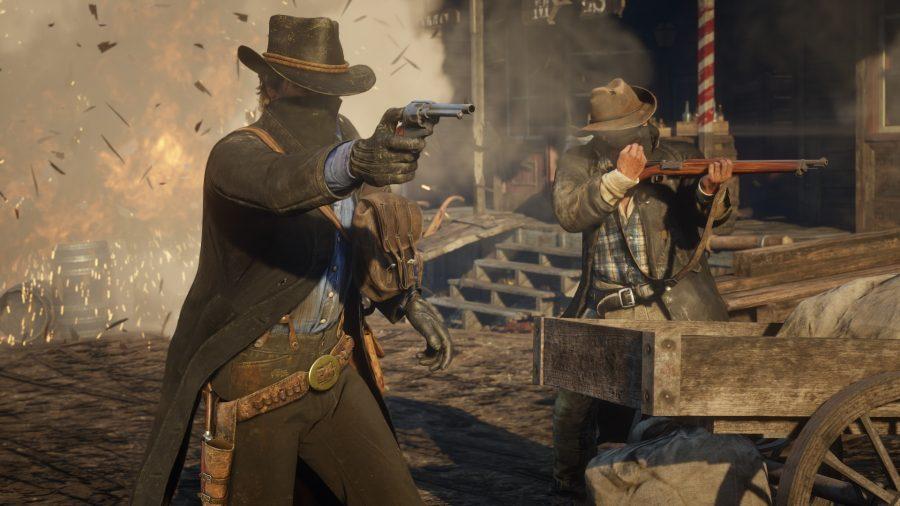 Deux cowboys de RDR2
