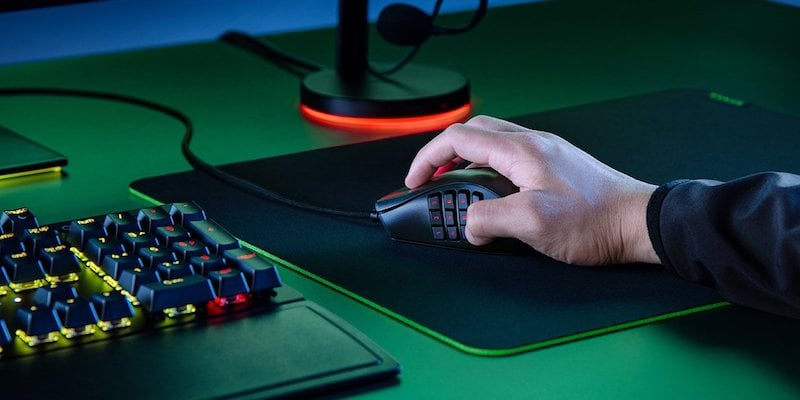 Souris de jeu MMO ergonomique Razer Naga X