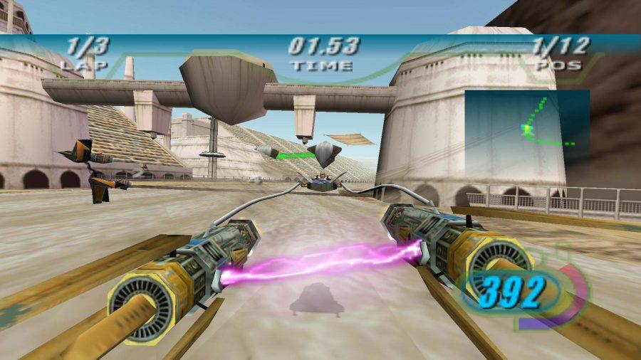 jeu Star Wars Episode 1 Racer
