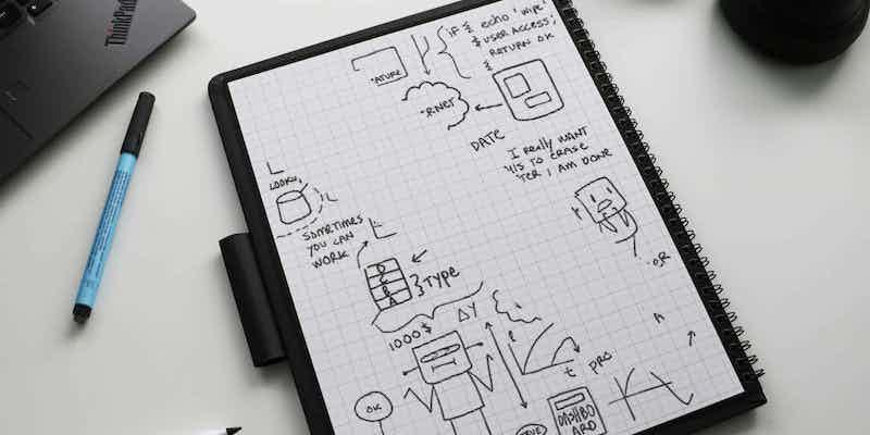 Gadgets sympas à ajouter à votre liste de souhaits 2021 Wipebook Pro Plus Smart Réutilisable Notebook