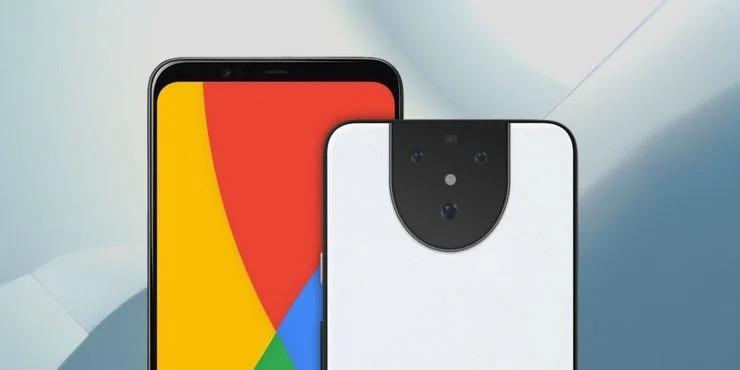 Rendu du Google Pixel 5