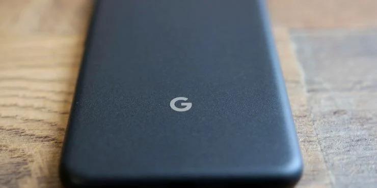 Logo Google sur un pixel 5