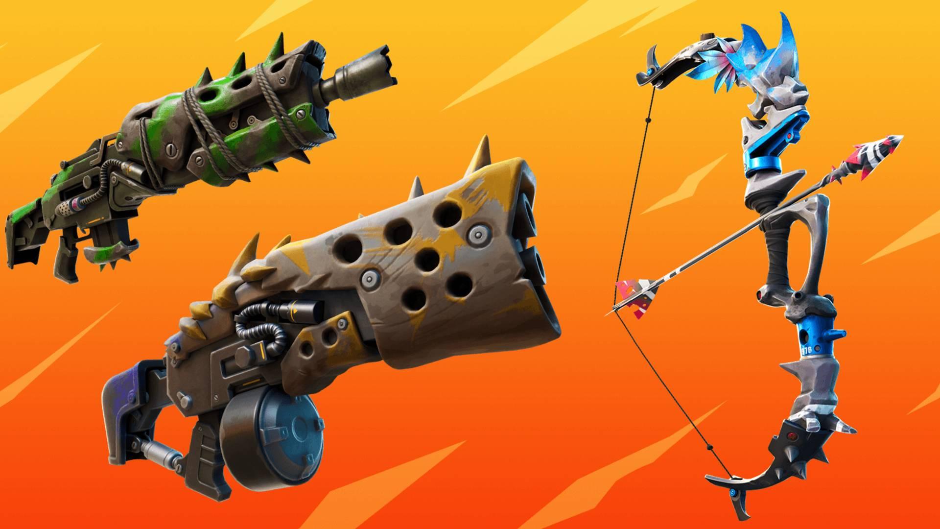 Nouvelles armes à feu Fortnite - voici toutes les nouvelles armes de la saison 6 de Fortnite