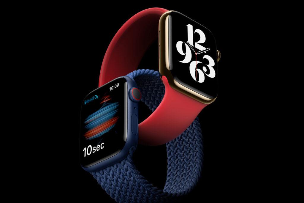 L'Apple Watch en 6 couleurs