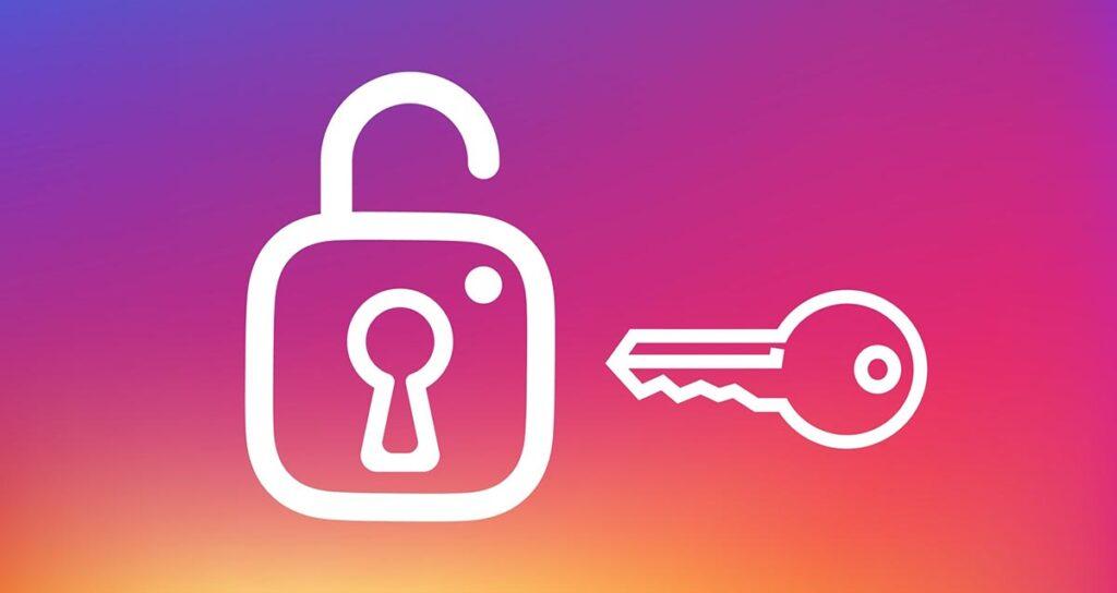 récuperation de mot de passe instagram